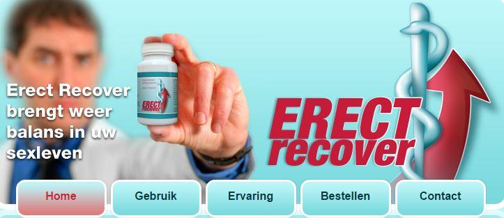 erect recover, erectiepil, erectiestoornis, erectie probleem